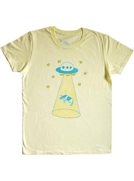 うしとUFO Tシャツ