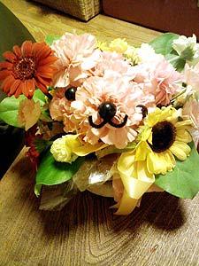 お花のくま