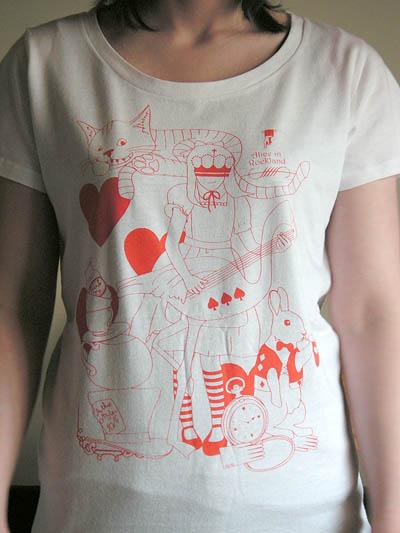 アリスTシャツ