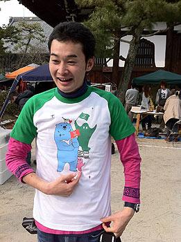 pray for japan チャリT
