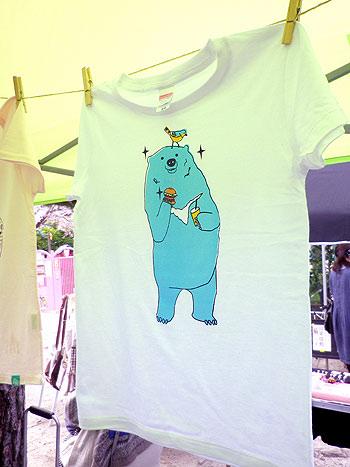 くまベアTシャツ