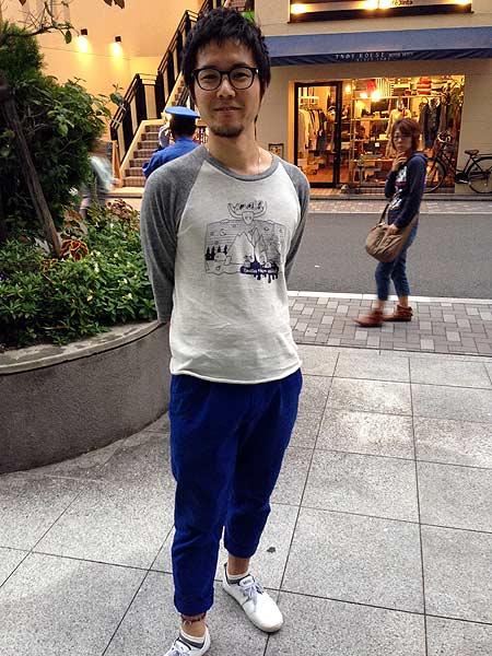 ナウーシニクTシャツモデル
